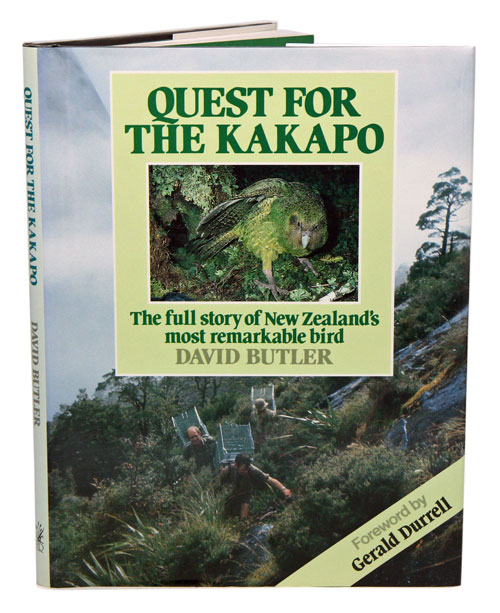 Quest for the Kakapo. David Butler.