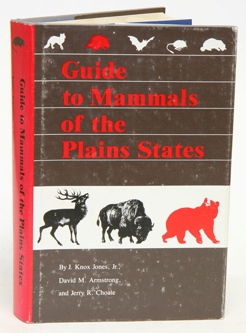 Guide to mammals of the plains states. J. Knox Jones.