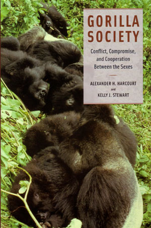 Gorilla society: conflict, compromise and cooperation between the sexes. Alexander H. Harcourt, Kelly J. Stewart.