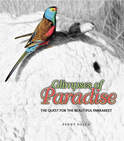Glimpses of paradise: the quest for the beautiful parrakeet. Penny Olsen.
