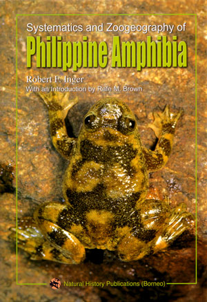Systematics and zoogeography of Philippine amphibia. Robert Inger.