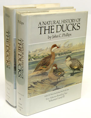 A natural history of the ducks. John C. Phillips.