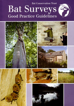 Bat surveys: good practice guidelines. Katie Parsons, editorial board.