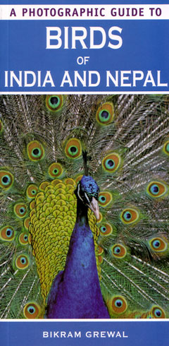 A photographic guide to birds of India and Nepal. Bikram Grewal.