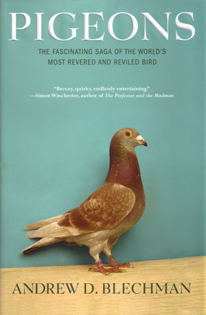 Pigeons: the fascinating saga of the world's most revered and reviled bird. Andrew D. Blechman.