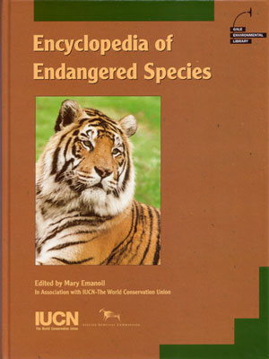 Encyclopaedia of endangered species [volume one]. Mary Emanoil.