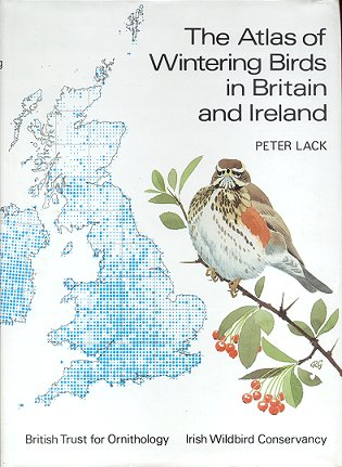 The atlas of wintering birds in Britain and Ireland. Peter Lack.