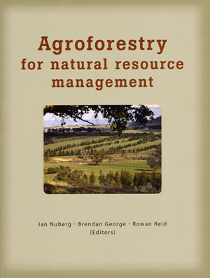 Agroforestry for natural resource management. Ian Nuberg.
