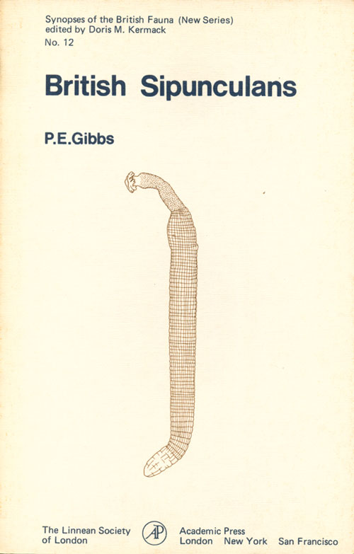 British sipunculans: keys and notes for the identification of the species. P. E. Gibbs.
