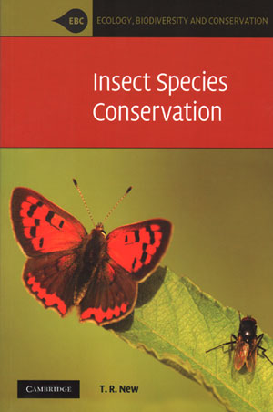 Insect species conservation. Tim R. New.