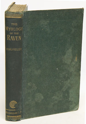 The myology of the Raven (Corvus corax sinuatus). A guide to the study of the muscular system in birds. R. W. Shufeldt.