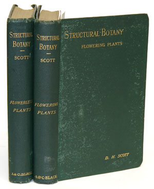 An introduction to structural botany, parts one and two. Dukinfield Henry Scott.