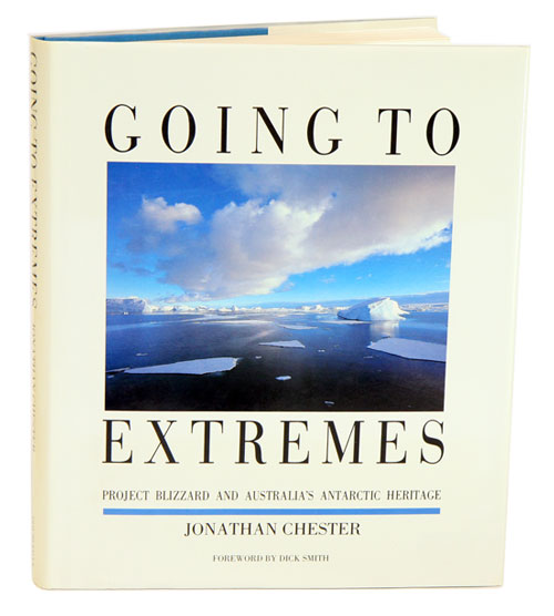 Going to extremes: project blizzard and Australia's Antarctic Heritage. Jonathan Chester.