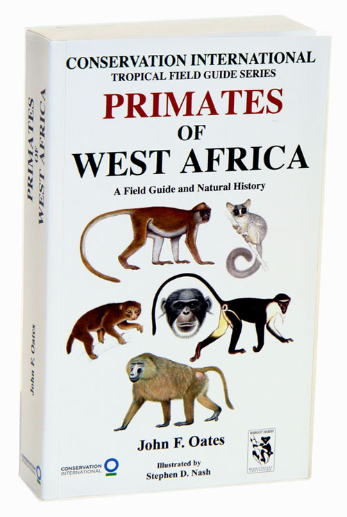 Primates of West Africa: a field guide and natural history. John F. Oates.