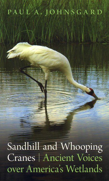 Sandhill and Whooping cranes: ancient voices over America's wetlands. Paul A. Johnsgard.