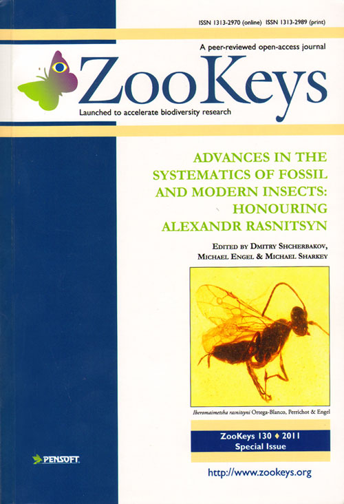 Advances in the systematics of fossil and modern insects: honouring Alexandr Rasnitsyn. Dmitry Scherbakov, Michael Engel, Michael Sharkey.