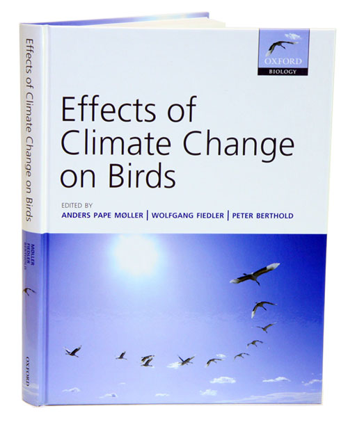 Effects of climate change on birds. Anders Pape Moller.