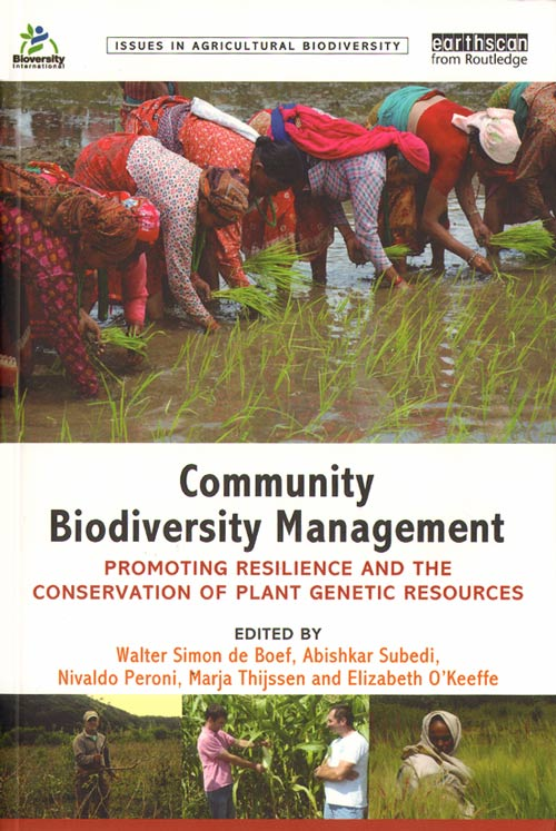 Community biodiversity management: promoting resilience and the conservation of plant genetic resources. Walter Simon De Boef.