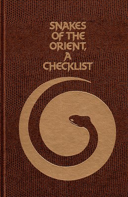 Snakes of the orient: a checklist. K. R. G. Welch.
