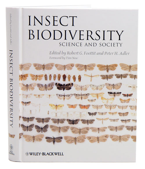 Insect biodiversity: science and society. Robert G. Foottit, Peter H. Adler.