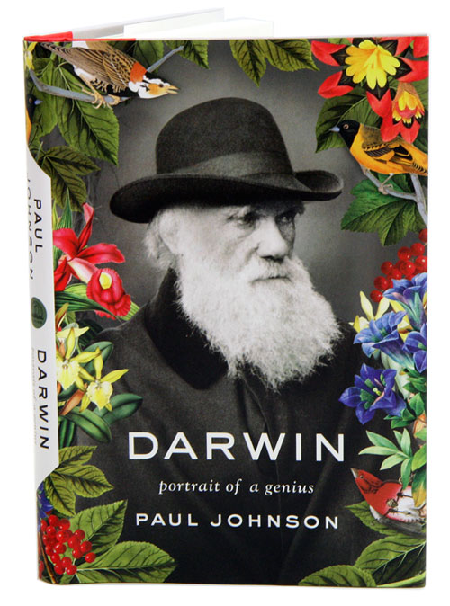 Darwin: portrait of a genius. Paul Johnson.