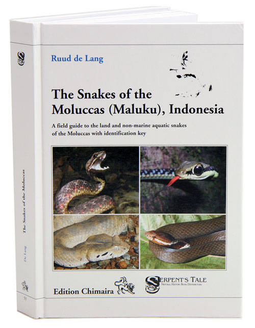 The snakes of the Moluccas (Maluku), Indonesia: a field guide to the land and non-marine aquatic snakes of the Moluccas with identification key. Ruud De Lang.