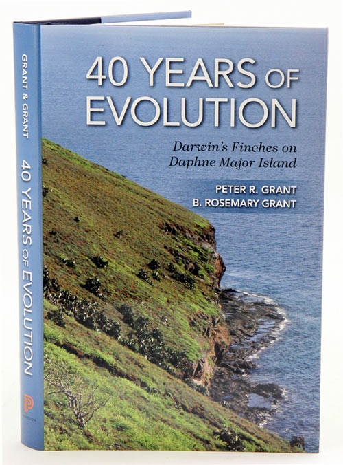 40 Years of evolution: Darwin's finches on Daphne Major Island. Peter R. Grant, B. Rosemary Grant.