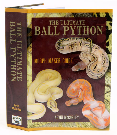 The ultimate Ball python: morph maker guide by Kevin McCurley on Andrew  Isles Natural History Books