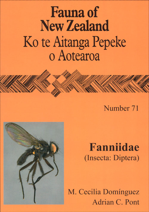 Fauna of New Zealand Number 71: Fannidae (Insecta: Diptera). M. Cecilia Dominguez, Adrian C. Pont.