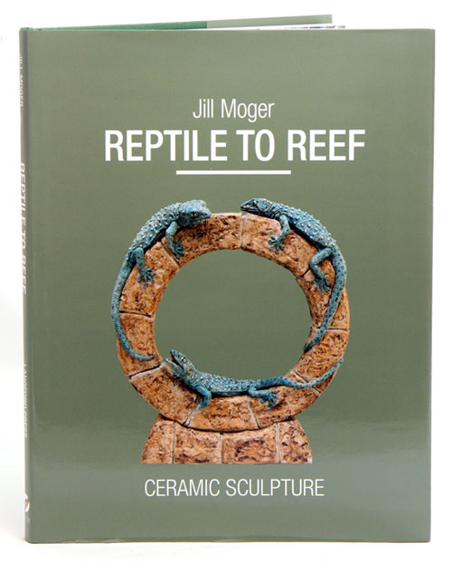 Reptile to reef: ceramic sculpture. Jill Moger.