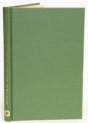 Handbook of snakes of the United States and Canada, volume three: Bibliography. Albert Hazen Wright, Anna Allen Wright.