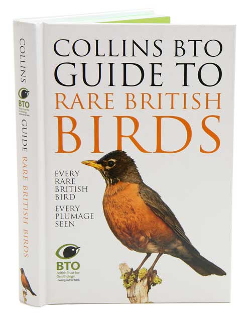 Collins BTO guide to rare British birds. Paul Sterry, Paul Stancliffe.