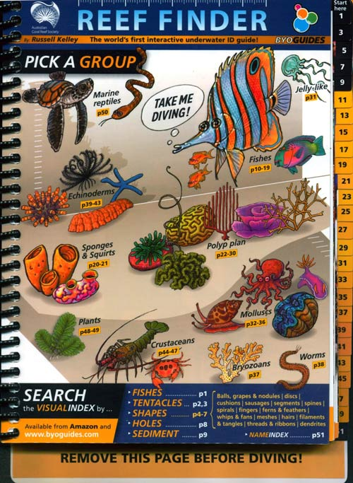 Reef finder: the world's first interactive underwater ID guide. Russell Kelley.