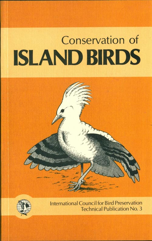 Conservation of island birds: case studies for the management of threatened island species. P. J. Moors.