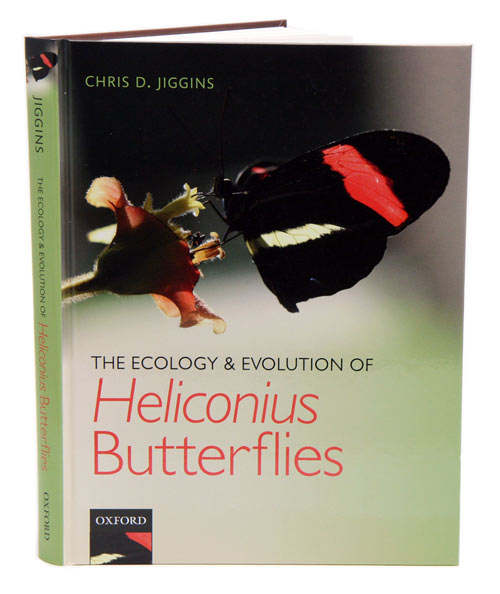 The ecology and evolution of Heliconius butterflies: a passion for diversity. Chris D. Jiggins.