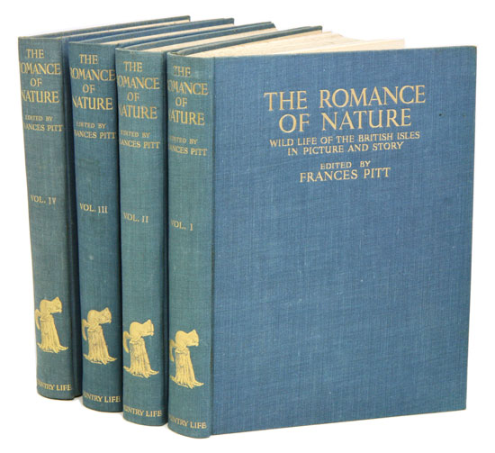 The romance of nature: wild life of the British Isles in picture and story. Francis Pitt.