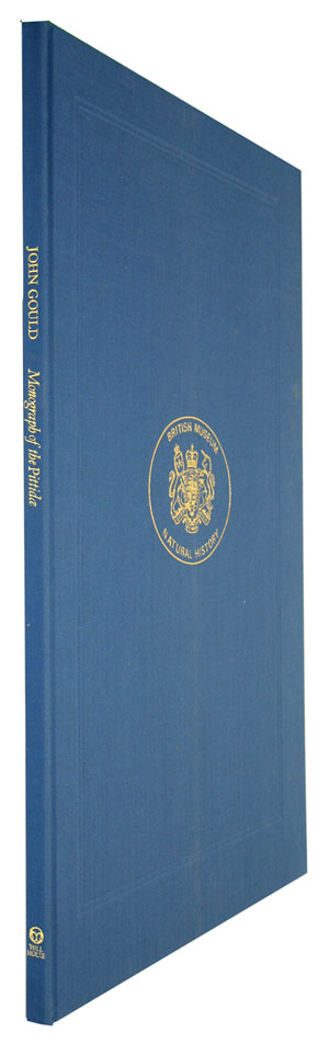 Monograph of the Pittidae [facsimile]. Gould John.