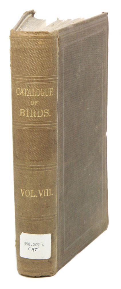 Catalogue of the Passeriformes, or perching birds in the Collection of the British Museum. Coliomorphae: part five, containing the families Paridae and Laniidae (Titmice and Shrikes) and Certhiomorphae (Creepers and Nuthatches). Hans Gadow.