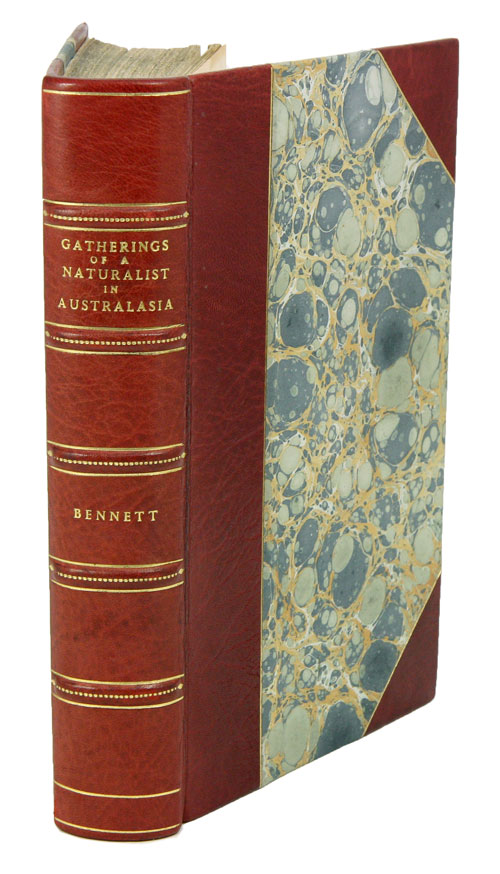 Gatherings of a naturalist in Australasia. George Bennett.