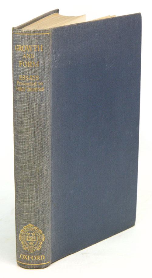 Essays on growth and form, presented to D'Arcy Wentworth Thompson. W. E. le Gros Clark, P. B. Medwar.