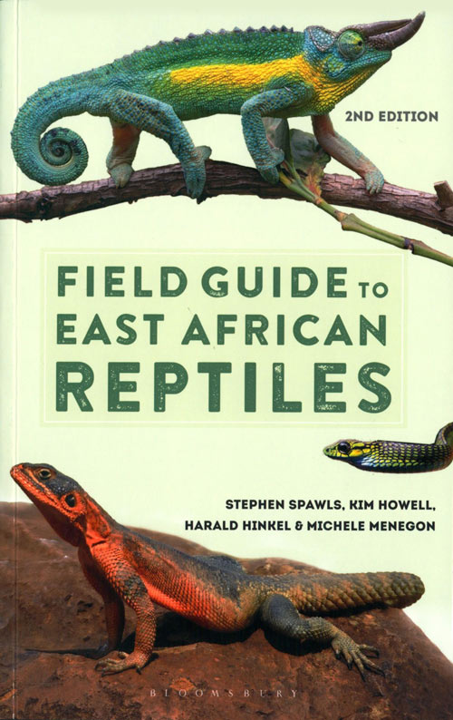 Field guide to East African reptiles. Steve Spawls.