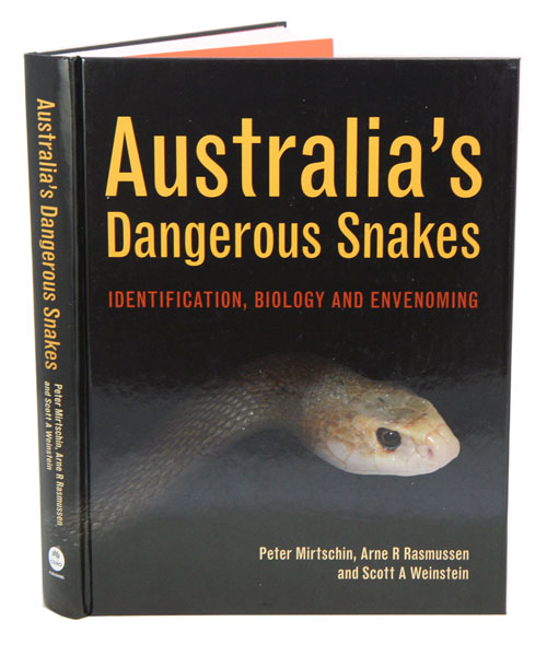 Australia's dangerous snakes: idenfication, biology and envenoming. Peter Mirtschin, Arne Rasmussen, Scott A. Weinstein.