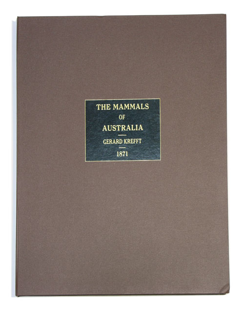 The mammals of Australia, illustrated by Miss Harriett Scott and Mrs Helena Forde, for the Council of Education; with a short account of all the species hitherto described. Gerard Krefft.