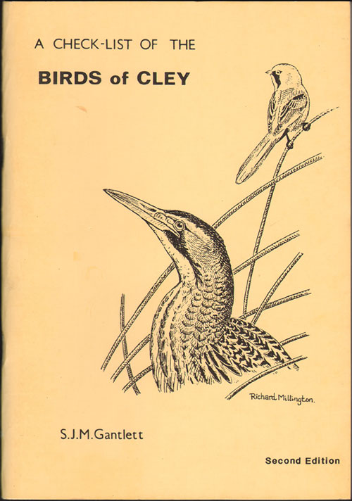 A check-list of the birds of Cley. S. J. M. Gantlett.