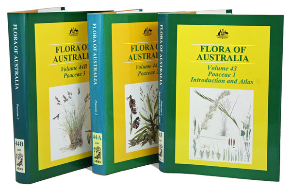 Flora of Australia, Poaceae, [volumes 43, 44A and 44B]. Katy Mallett, Anthony E. Orchard.