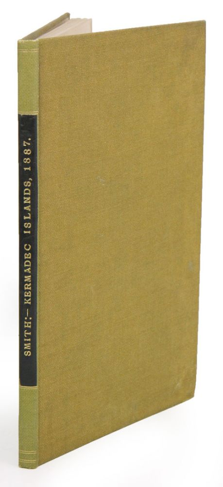 The Kermadec Islands: their capabilities and extent. S. Percy Smith.