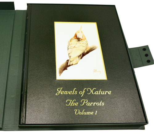 Jewels of nature: the parrots, volume one [all published]. Gordon K. Hanley.