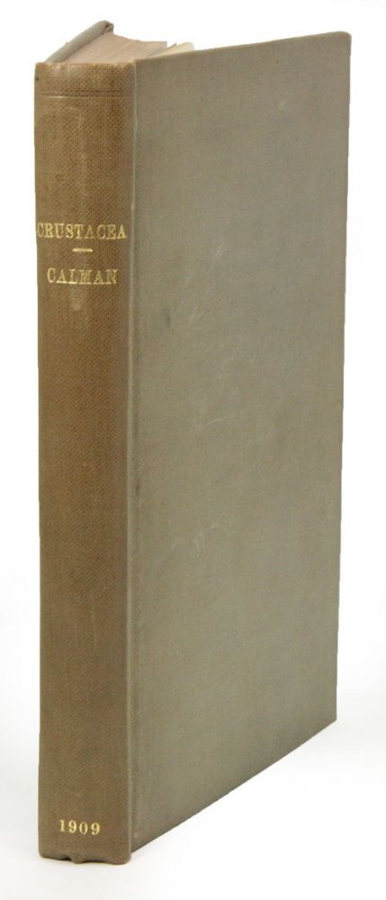 A treatise on zoology, part seven: Appendiculata. Third fascicle: Crustacea. W. T. Calman.