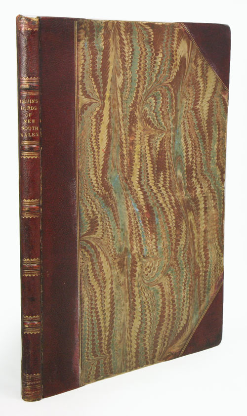 A natural history of the birds of New South Wales, collected, engraved, and faithfully painted after nature. John William Lewin.
