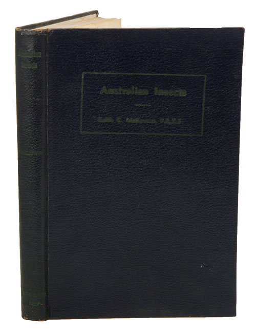 Australian insects: an introductory handbook. Keith C. McKeown.